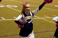 Cheer and Song Away game 10-19-12