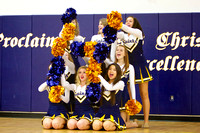 CLHS Basketball 02-05-13 Song and Cheer